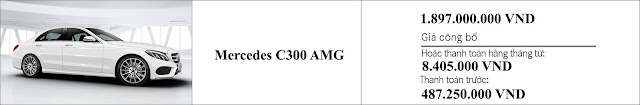 Giá xe Mercedes C300 AMG 2018 tại Mercedes Trường Chinh