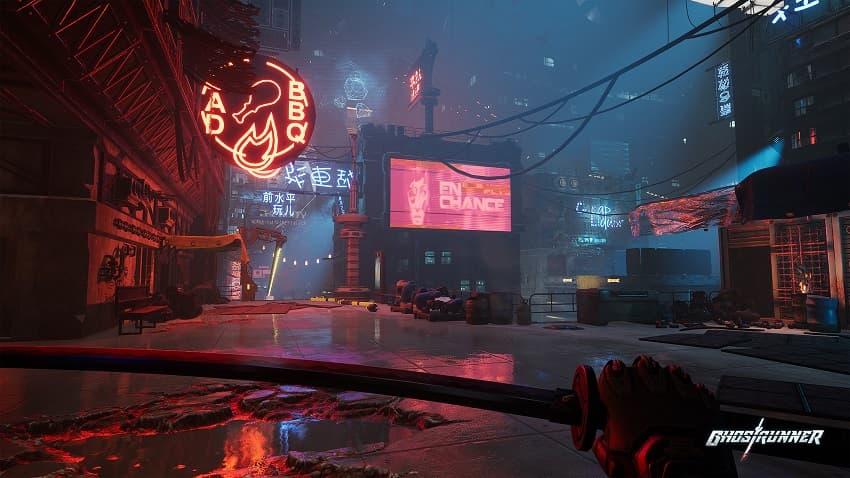 Обзор игры Ghostrunner - киберпанк-экшена про ниндзя - 01
