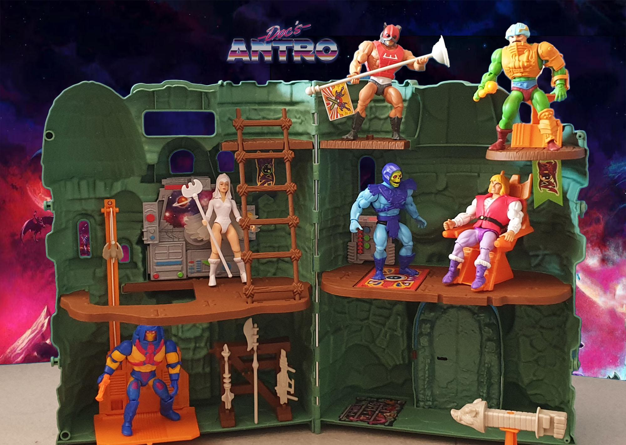 Masters of the Universe Origins Castello di Grayskull Castle Antro recensione