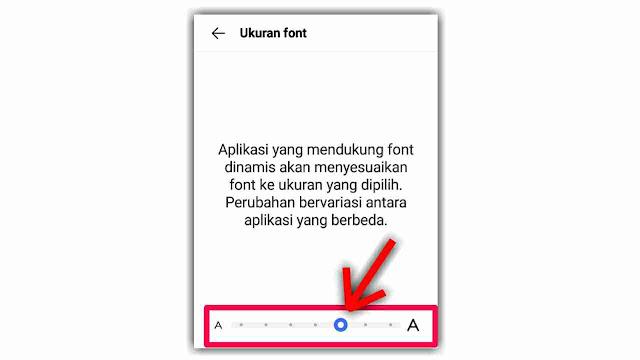 Cara Mengatur Ukuran Font di HP vivo