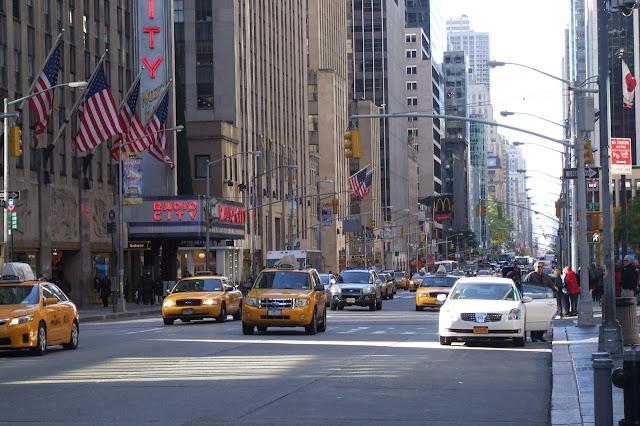 صورة من وسط مدينة نيويورك