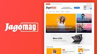 JagoMag Premium Magazine Blogger Template