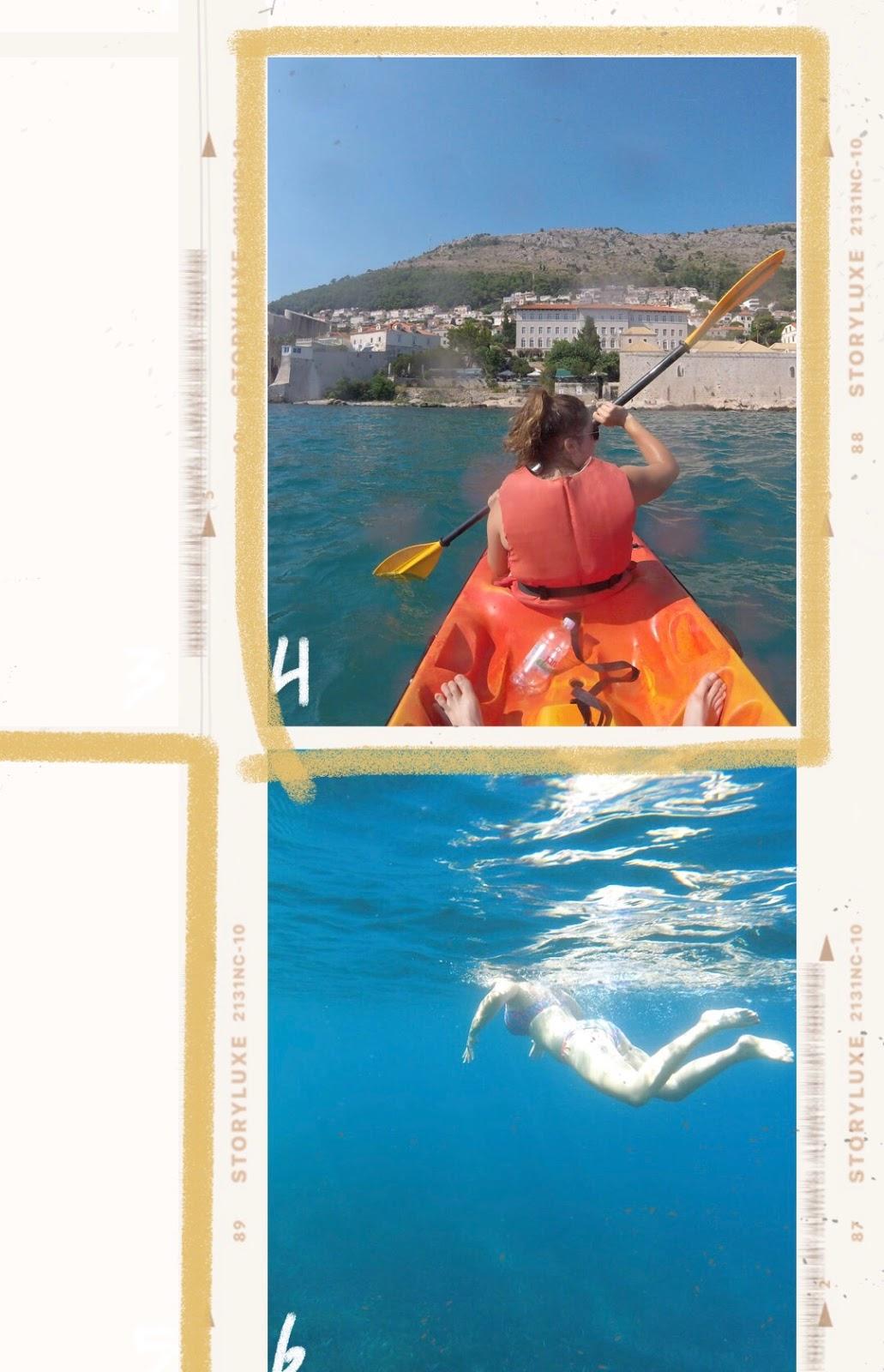 voyage kayak snorkeling