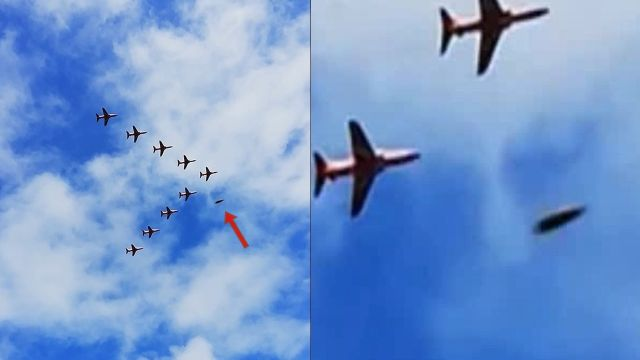 It Happened Again, UFO passing fighter jets during air show in England  Ufo%2Bfastwalker%2Bengland
