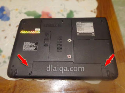 kuncian baterai laptop