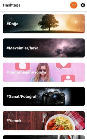 Instagram Hazır HashTags Uygulaması Etiket Oluşturma Bedava