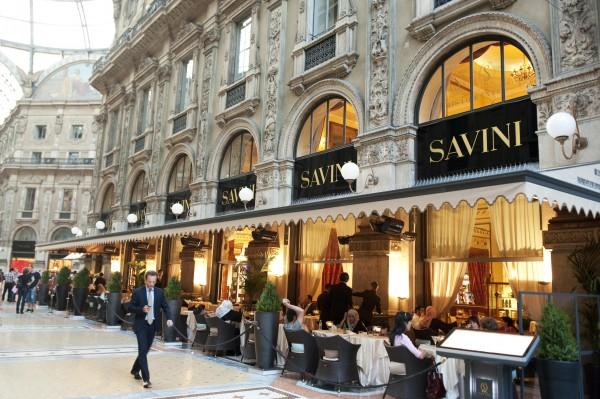 Restaurante Savini na Galeria Vittorio Emanuele II