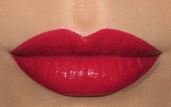 Shiseido Rouge Rouge Lipstick Swatches RD501 Ruby Copper