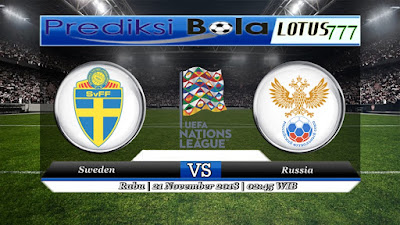 Prediksi pertandingan Sweden vs Russia 21 November 2018