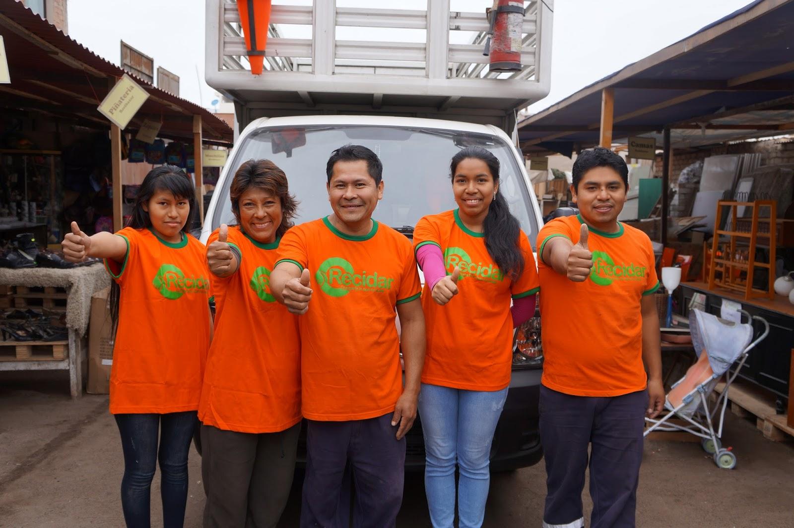Recidar: Donación de cosas usadas u objetos usados en Lima-Perú