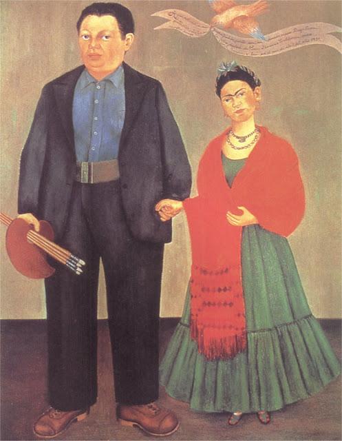 Фрида Кало - Фрида и Диего Ривера. 1931