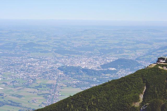 Salzburg view from Untersberg