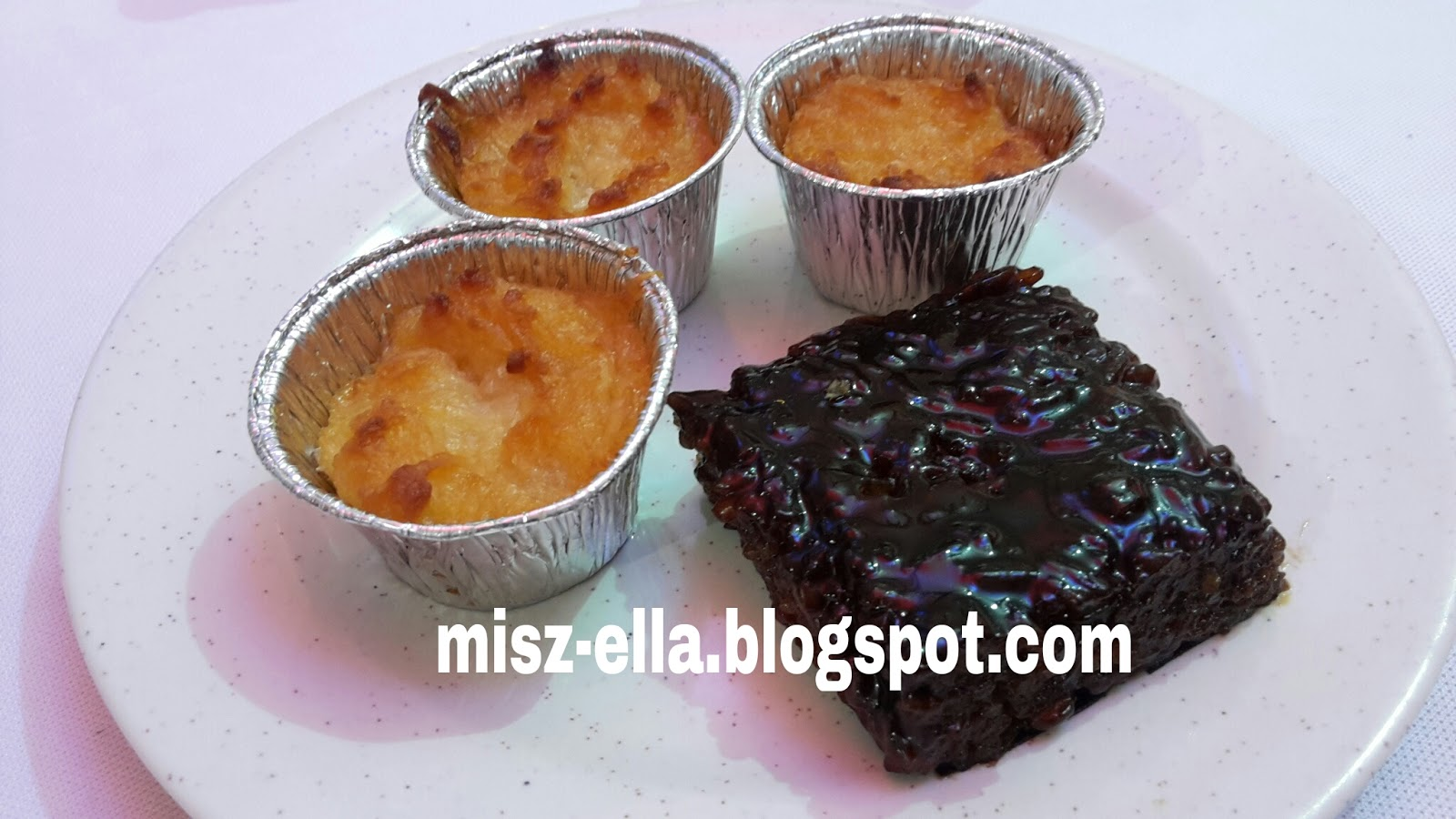 Philippines Halal Food At Hotel Malaysia 2015 Dari Jari Produk Ukm Bingka Cassava Cake And Biko That I Tried The Embassy Event Recently Slightly Same With Our Malay Ubi Kayu Wajik But Theirs Is