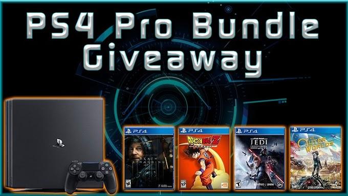Sorteio | Concorra a Um PlayStation 4 Pro Bundle