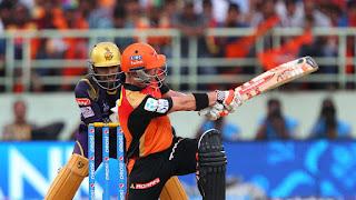David Warner 91 - SRH vs KKR 19th Match IPL 2015 Highlights