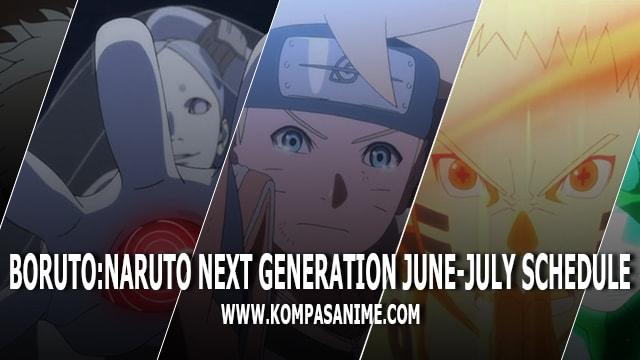 Jadwal Rilis Anime Boruto: Naruto Next Generation Bulan Juni-Juli 2018