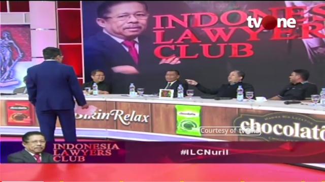 Reaksi Karni Ilyas saat Fahri Hamzah Menolak Sesi Bicara Dirinya yang Jadi Narasumber ILC