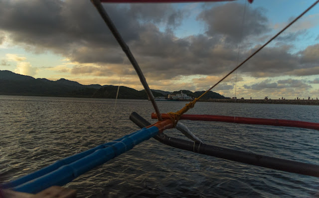 Port San Vicente Wharf Up close Coastal Dusk Sta Ana Cagayan Philippines