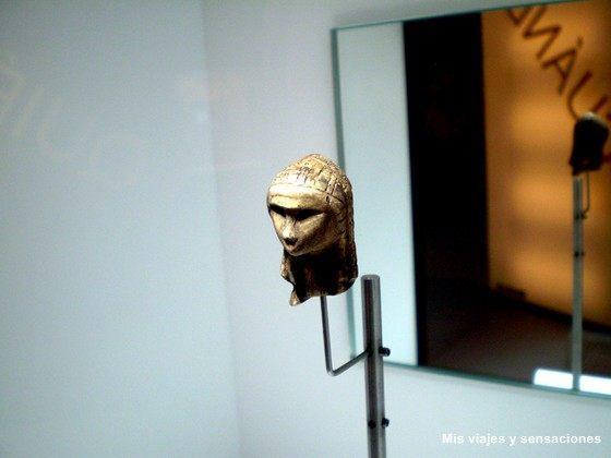La venus de Brassempouy, Museo Parque de la Prehistoria, Asturias