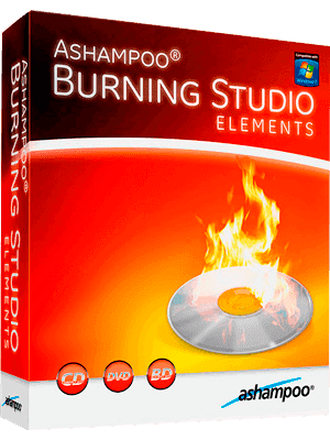 Ashampoo Burning Studio Elements box