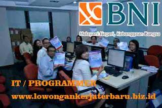info pekerjaan di bank bni terbaru