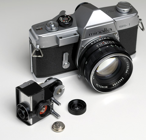 Exploring the World of Film Cameras and Lenses: Minolta SR-1
