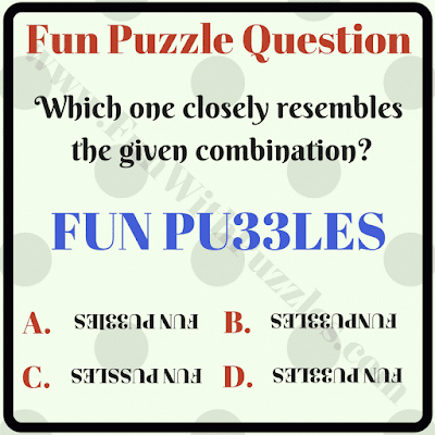 Non verbal reasoning fun puzzle question