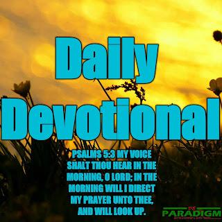 Today's Devotion |SUNDAY| [DANGERS OF FALSE PROFESSION]