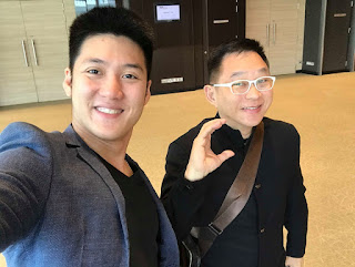 Alaric Ong With Chinkee Tan, Filipino Chinese celebrity with 2 million followers on Facebook and 500k YouTube Subscribers
