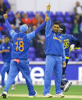 India reach Champions Trophy final 2013