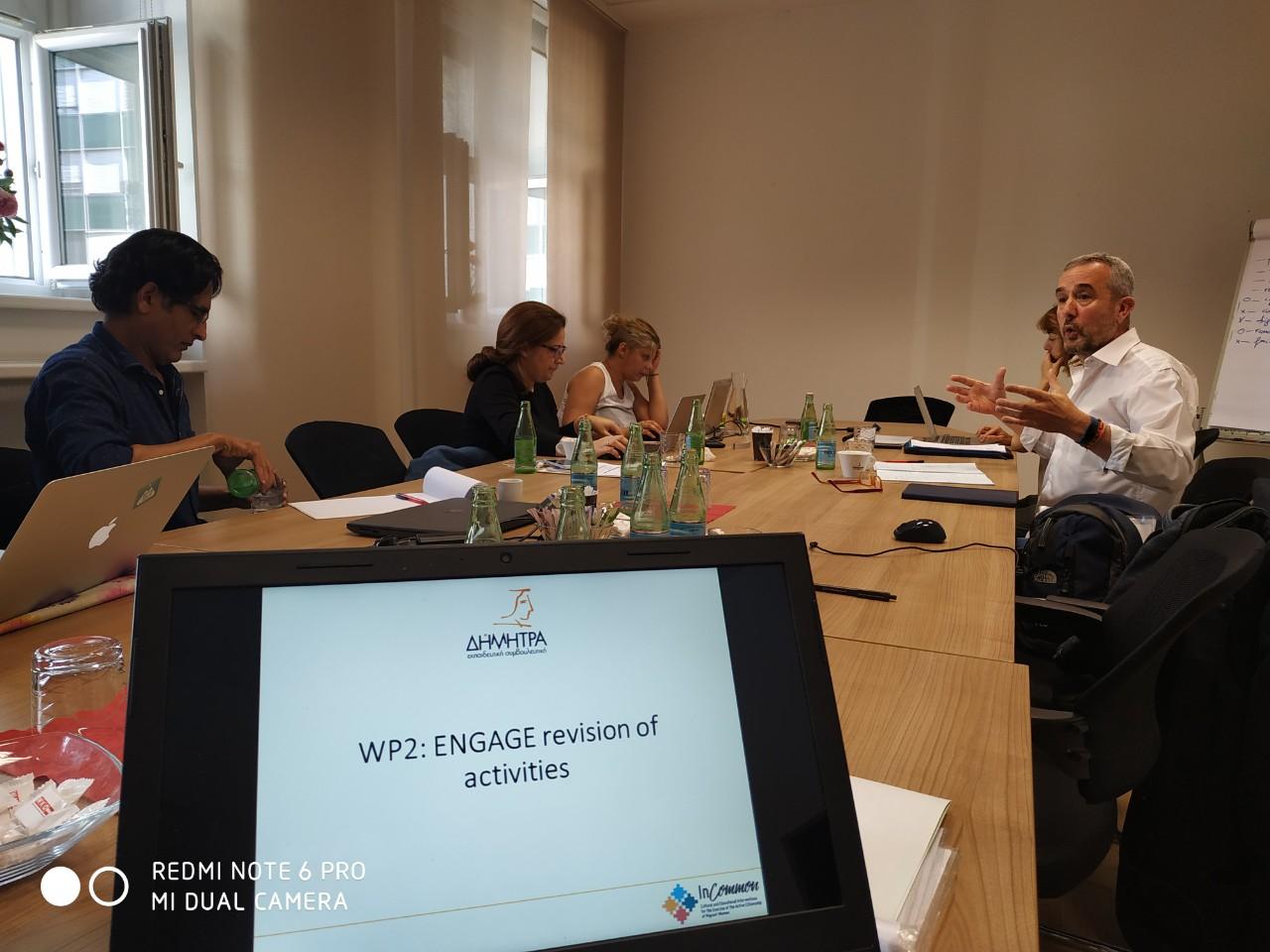 Συνάντηση στο πλαίσιο ευρωπαικού προγράμματος που συμμετέχει ο Δήμος Λαρισαίων
