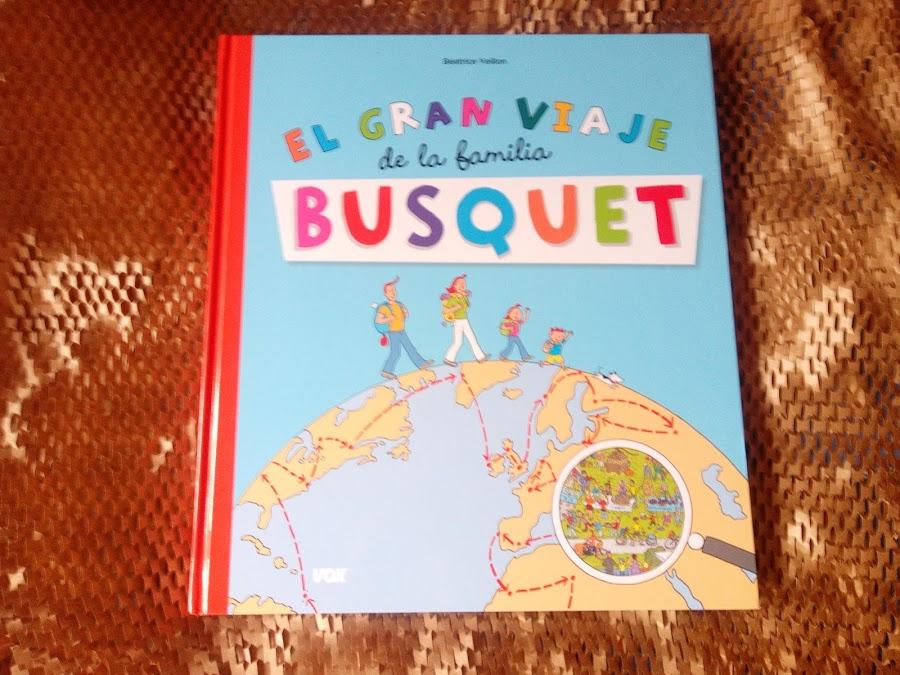 Portada busca y encuentra viaje familia busquet