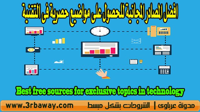 Best free sources for exclusive topics in technology