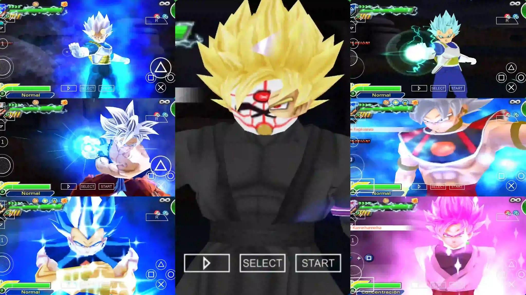 Super Dragon Ball Heroes Ultra Instinct vs Black Goku