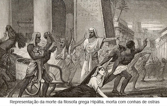 Morte de Hipatia