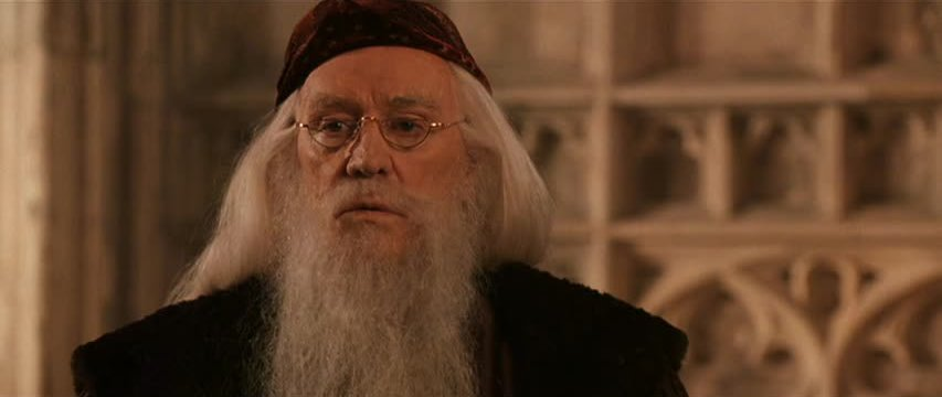 Image result for harris as prof dumbledore