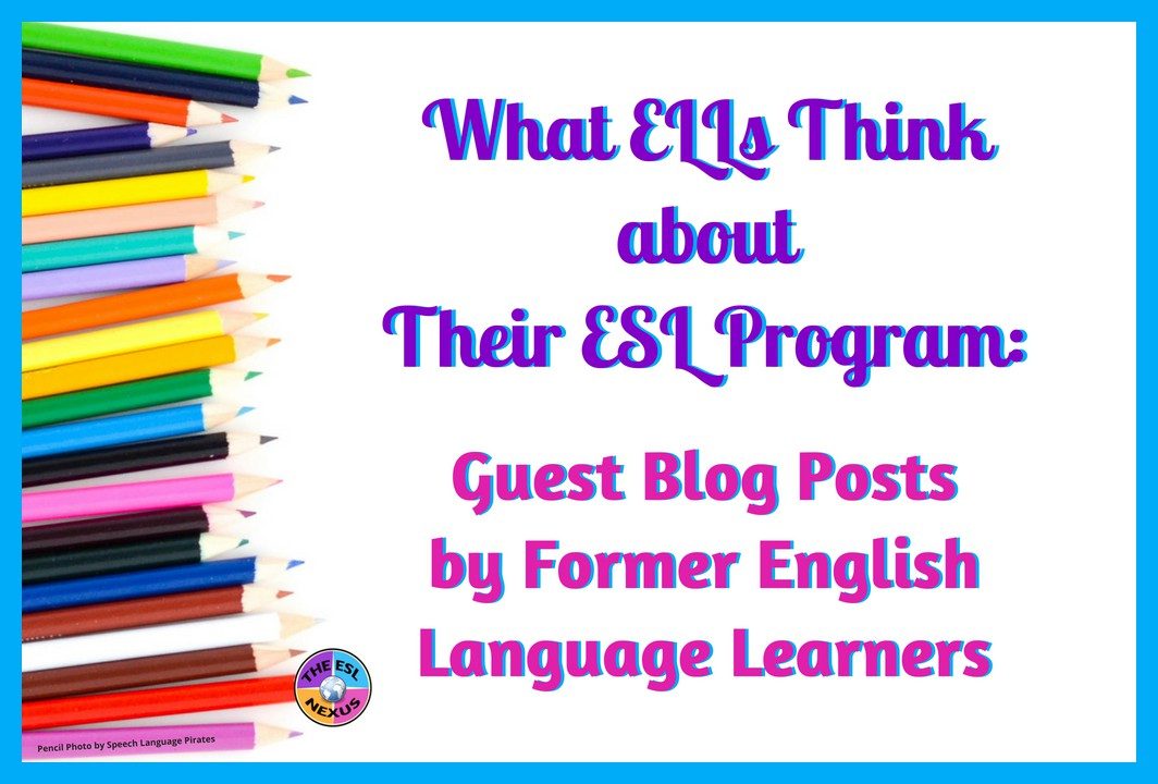 Learn what former English Language Learners think about their ESL program in this series of guest blog posts. Read what a Japanese student has to say in her post | The ESL Nexus