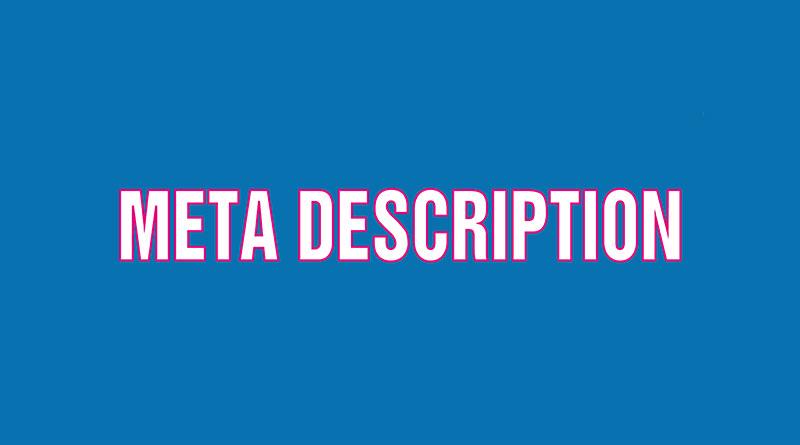 Thẻ meta description là gì? meta description đôi khi còn được gọi thẻ mô  tả: Là thuật ngữ ám chỉ một đoạn văn bản mô tả về nội dung trong một trang  web, ...