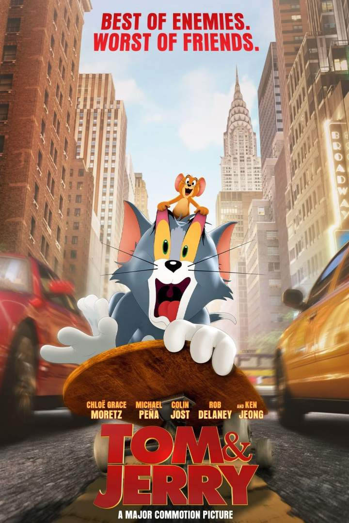 Movie: Tom and Jerry (2021)