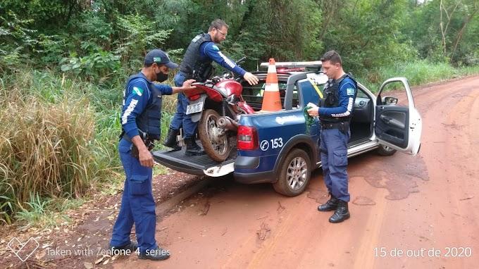 GUARDA MUNICIPAL DE TOLEDO RECUPERA MOTOCICLETA FURTADA NA REGIÃO