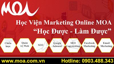 Học viện MOA đào tạo marketing online