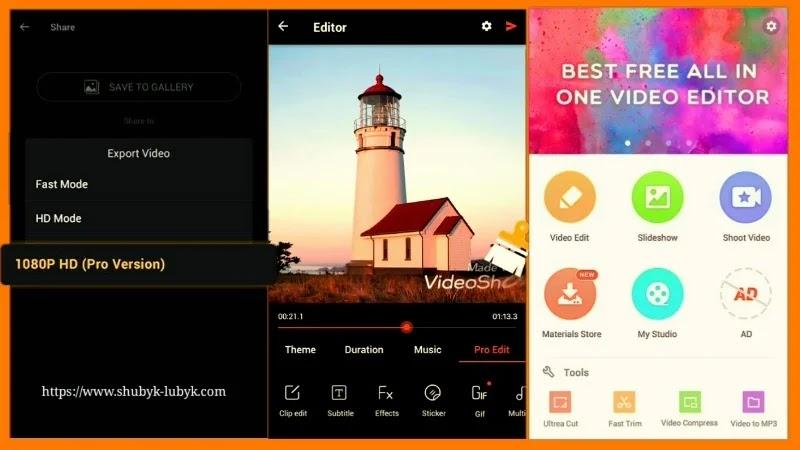 VideoShow Mod