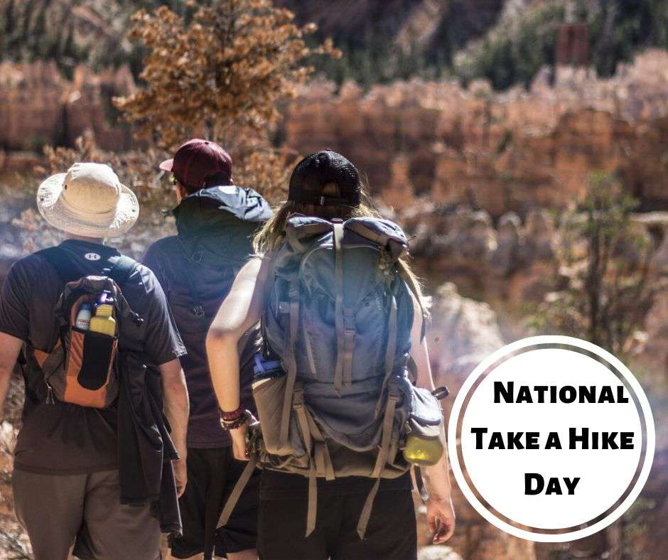 National Take a Hike Day Wishes Images