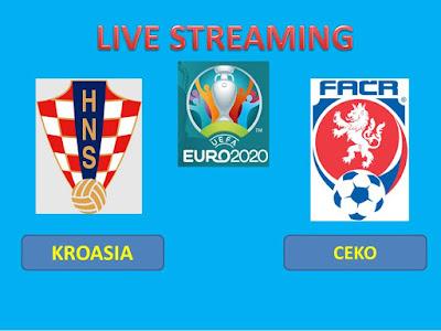 Link Live Streaming Euro 2020 KROASIA Vs CEKO Berlangsung Di Stadion Hampden Park