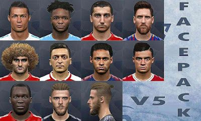 PES 2017 New Facepack Vol 5 By Goip