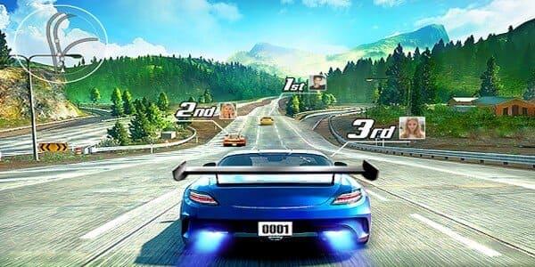 تحميل لعبة street racing 3d مهكرة