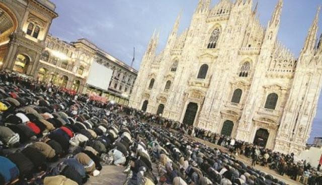المسلمون في ايطاليا يضربون مثالا رائعا  في التعاون والاندماج أثناء انتشار فيروس كورونا