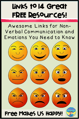 Check out these great links for teaching emotions and nonverbal language skills!