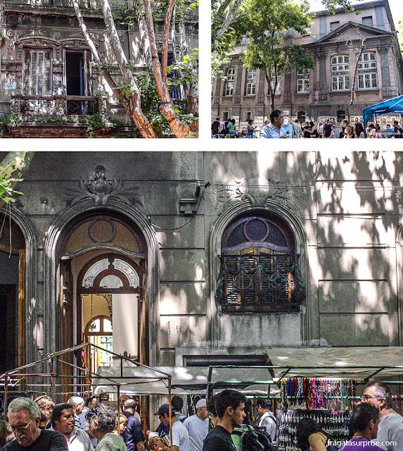 Feira de Tristán Narvaja, Montevidéu, Uruguai