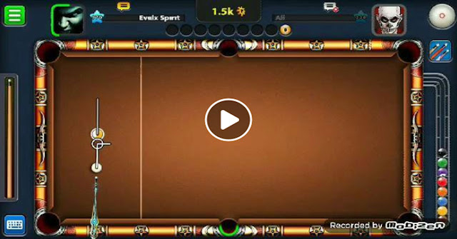 8 ball pool Incredible skill